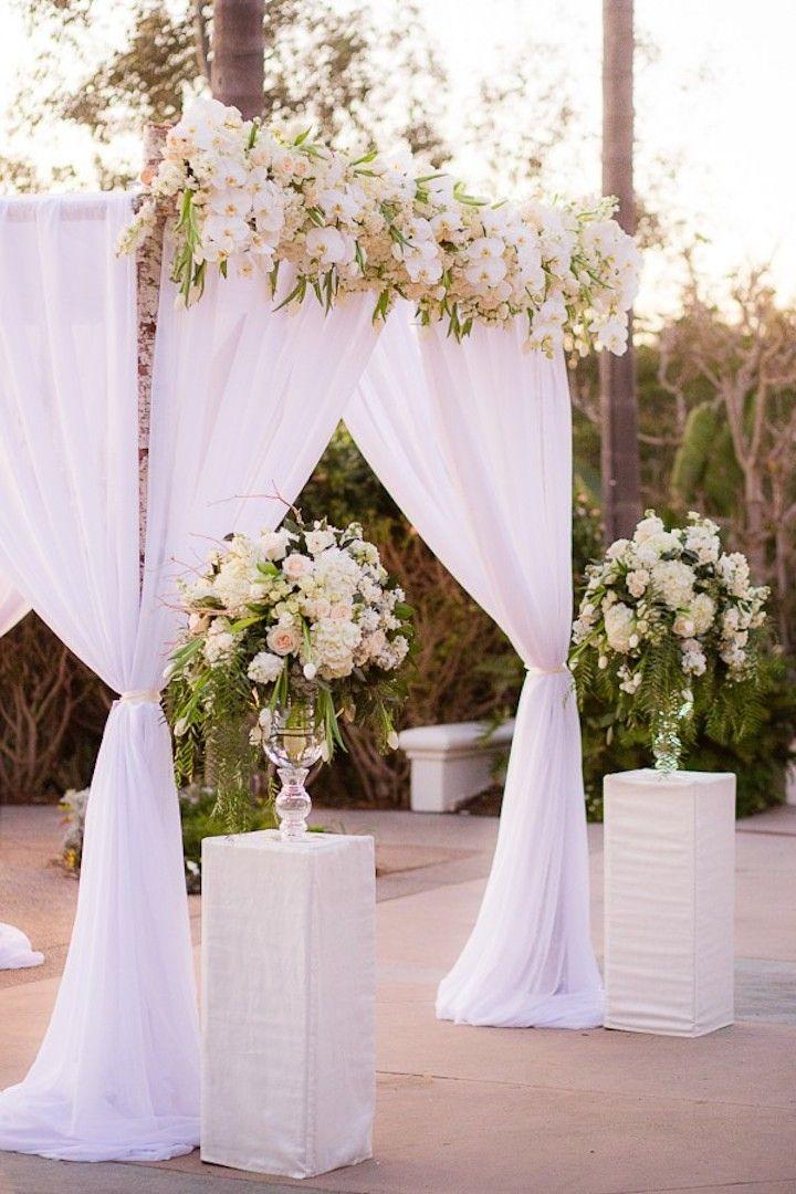 Glitz and Glam New Year's Eve California Wedding | White ...