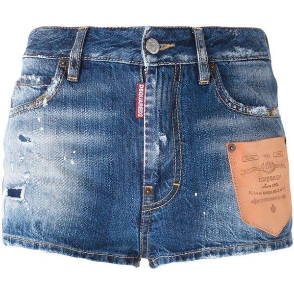 Pantaloncini in Denim DSQUARED 2