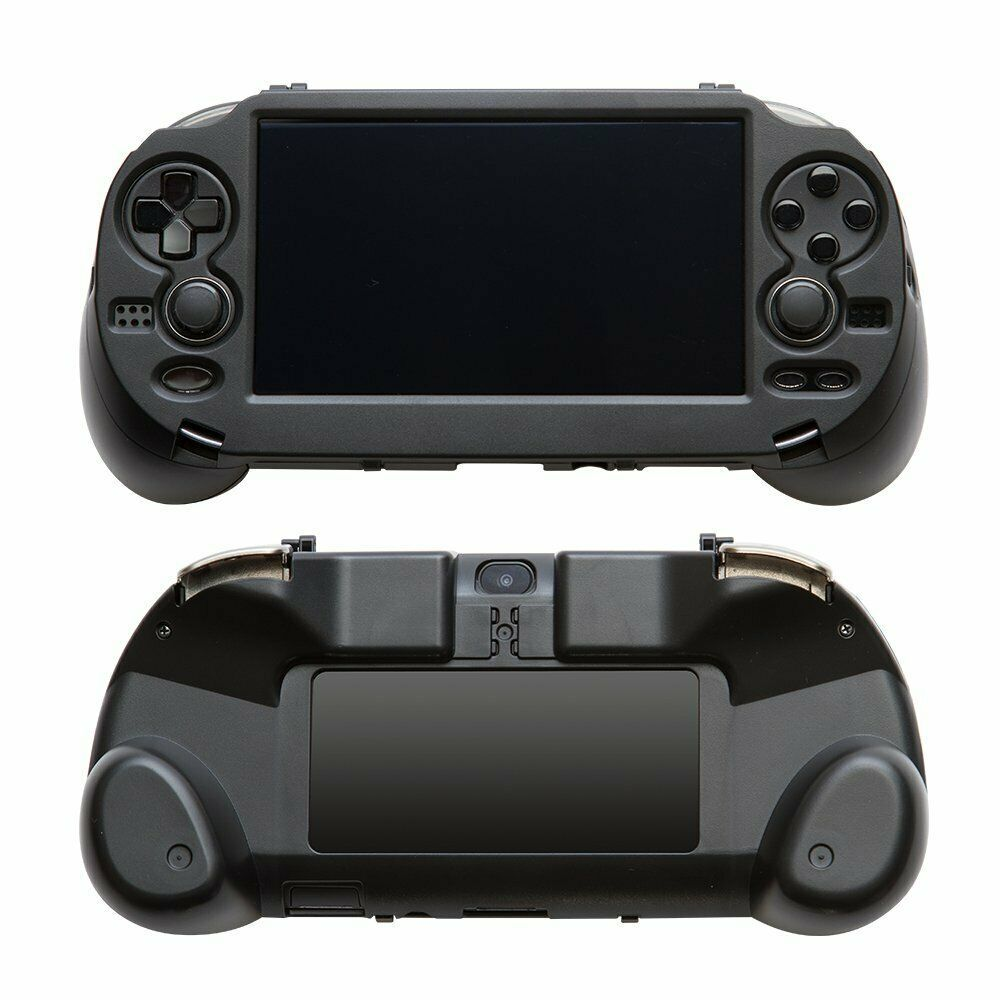 Details about L2 R2 Buttons Mounted Grip Cover Black Ps Vita