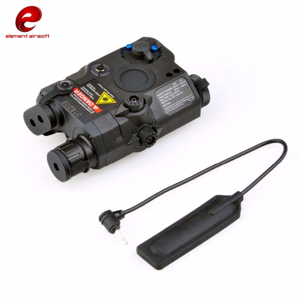 Element Tactical Airsoft LA PEQ15 Red laser Tactical hunting flashlight EX276