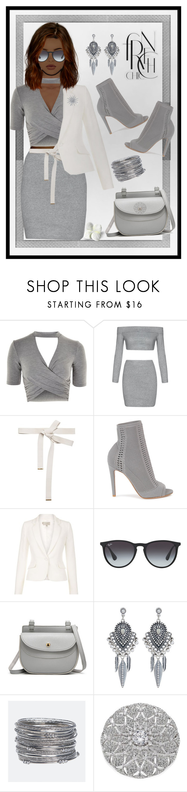 """""""#fashionistachic"""" by liligwada ❤ liked on Polyvore featuring Polaroid, Topshop, Marni, Gianvito Rossi, Ray-Ban, Accessorize, Avenue, Adriana Orsini and Bling Jewelry"""