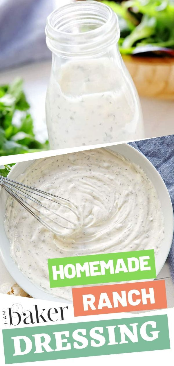 Pin By Mercedes Capizzi On Salads Sour Cream Ranch Dressing Homemade Ranch Dressing Buttermilk Ranch Salad Dressing Recipes