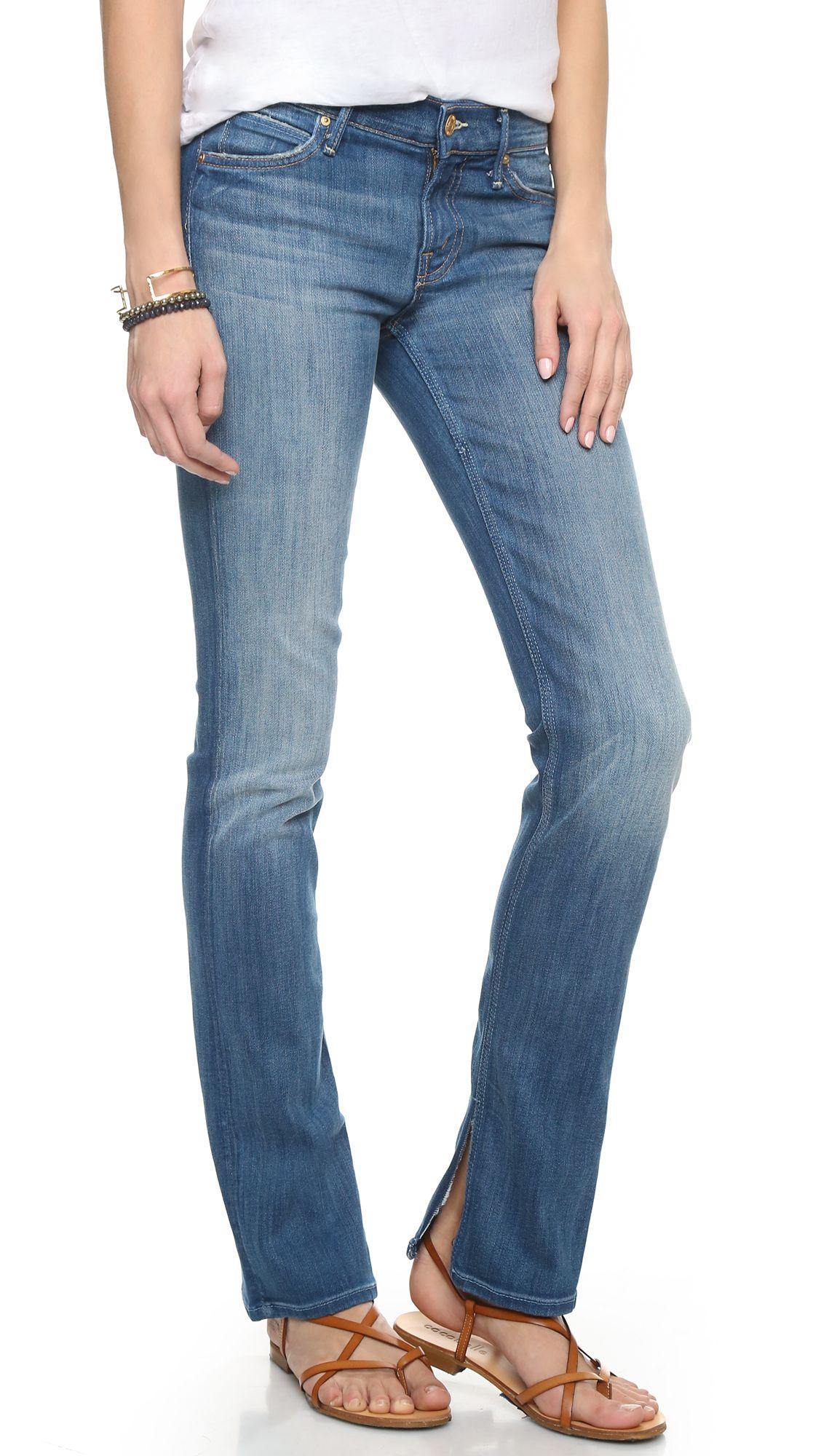 MOTHER Slit Rascal Jeans