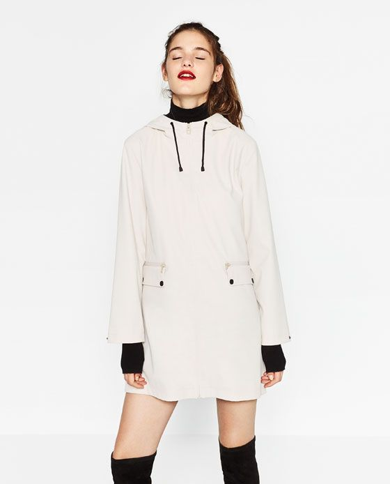 ecb9140b4 Image 2 of WATER REPELLENT RAINCOAT from Zara   Cool Clothes   Coat ...