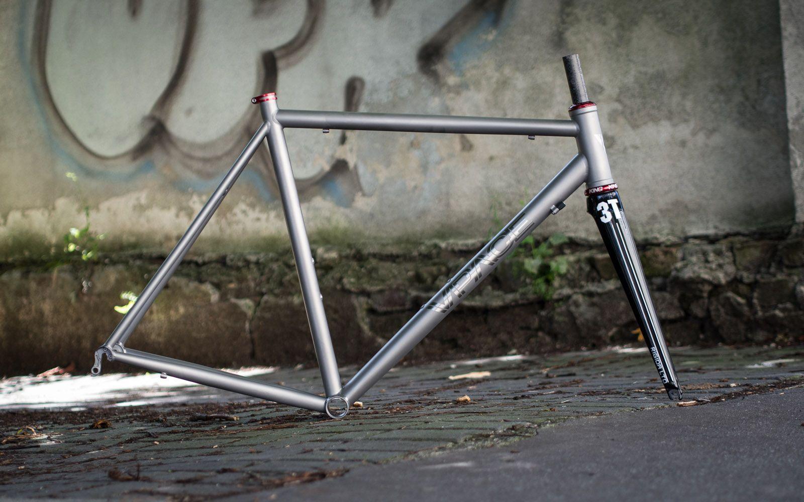 T1r Titan Rennrad Rahmen Bike Details Fixedgear Bicycle