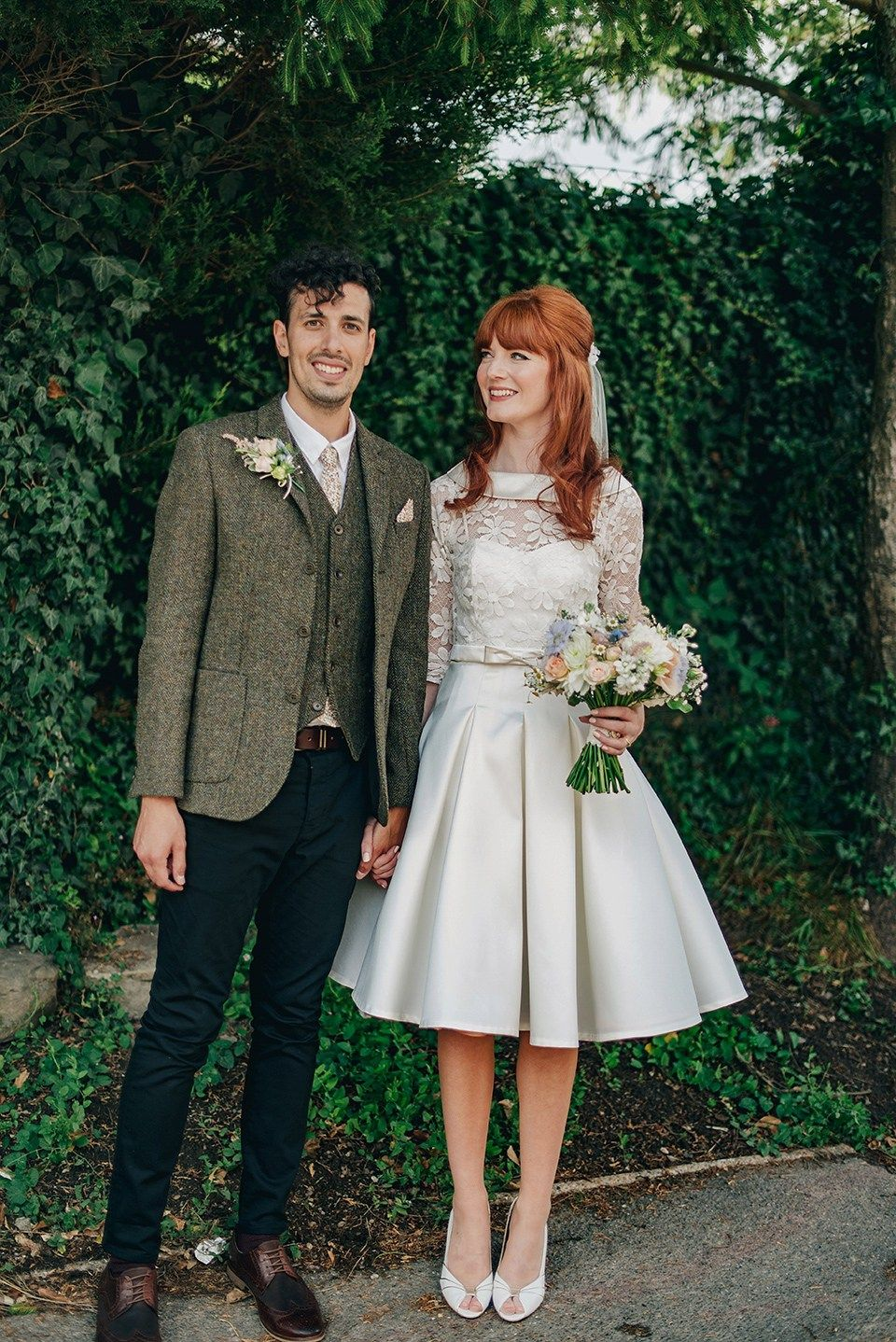 A us inspired dress for a kitsch and quirky wedding weddings