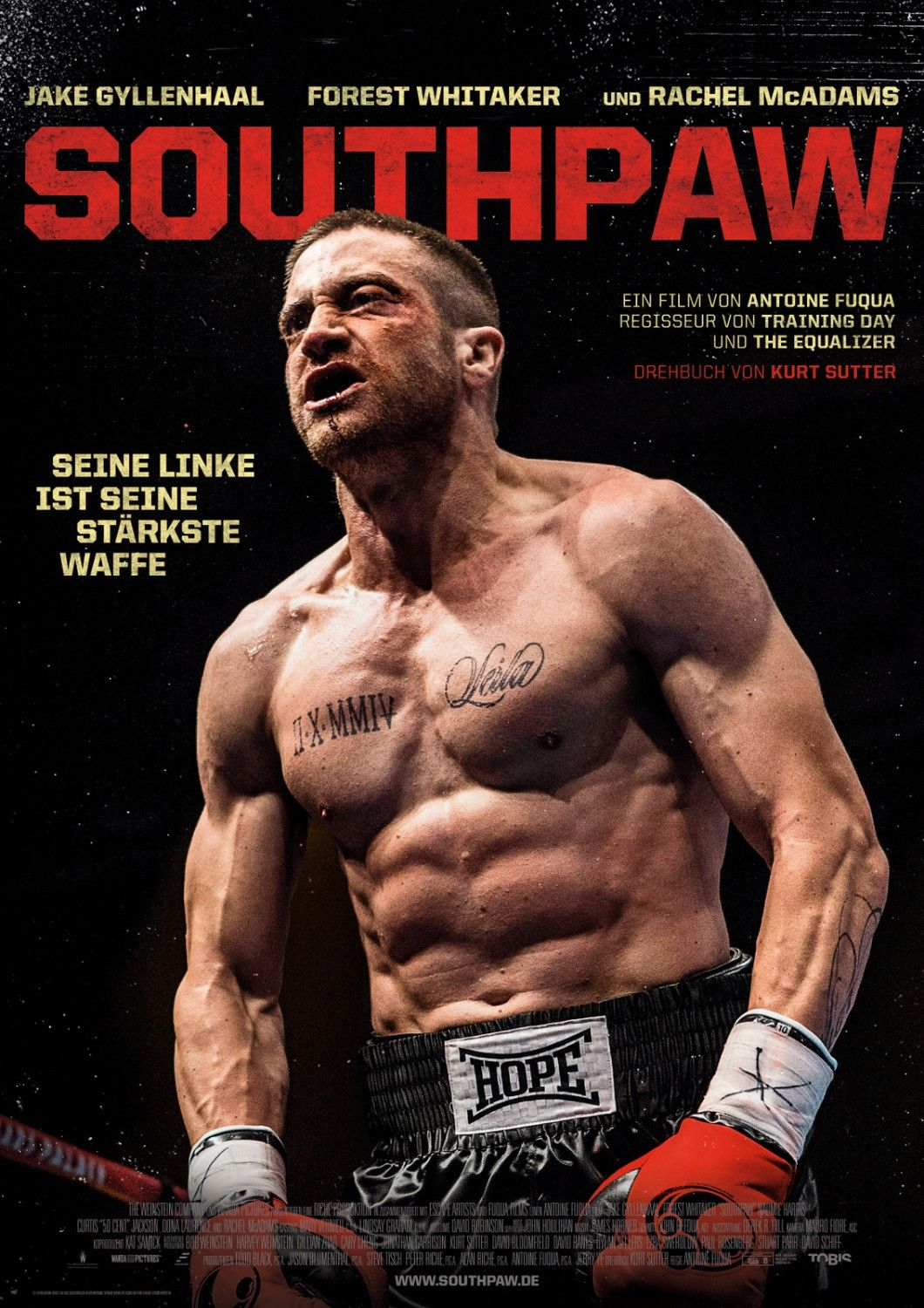 southpaw 2015 poster Gallery