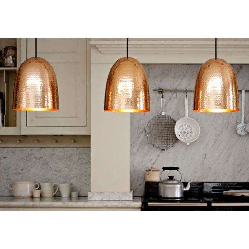 Original BTC Stanley Copper Pendant Light