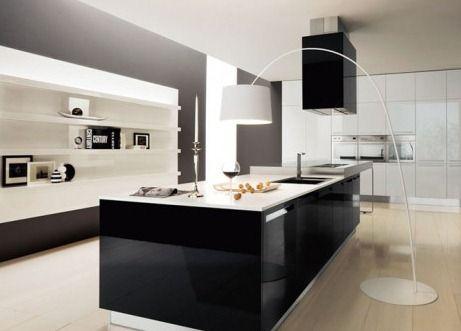 diseño de #cocinas Puertas en melanina en linea 3 cocinas #madrid ...