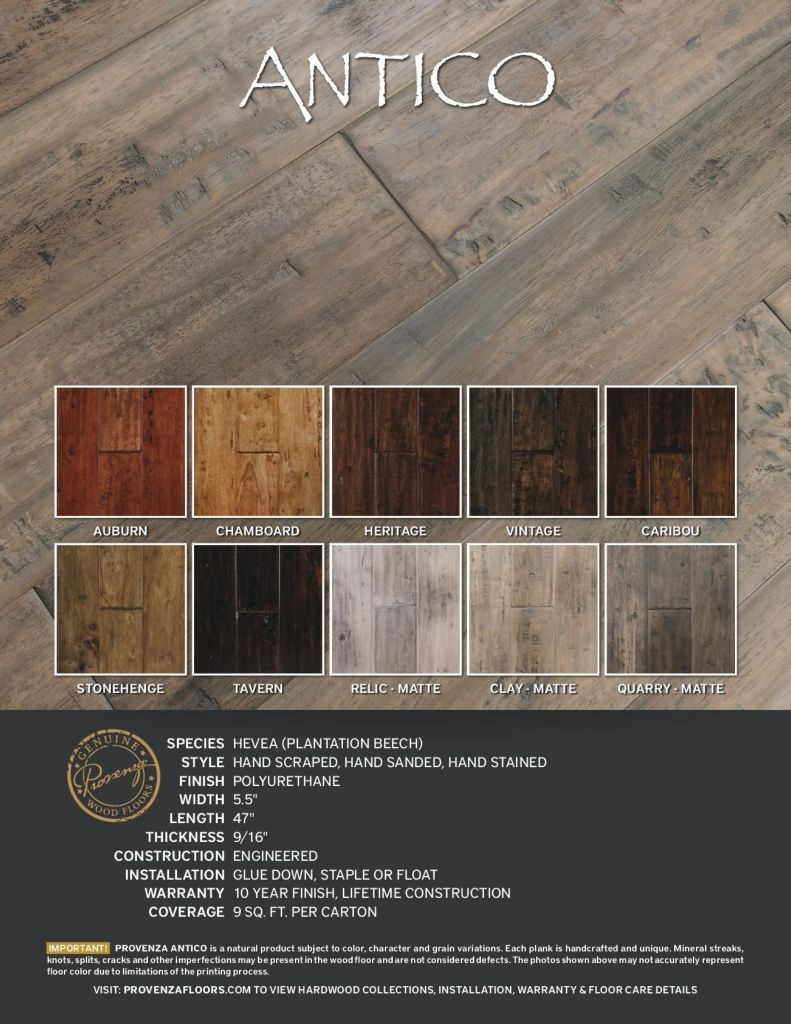 Provenza Floors Product Catalog 2016 Flooring, Stain