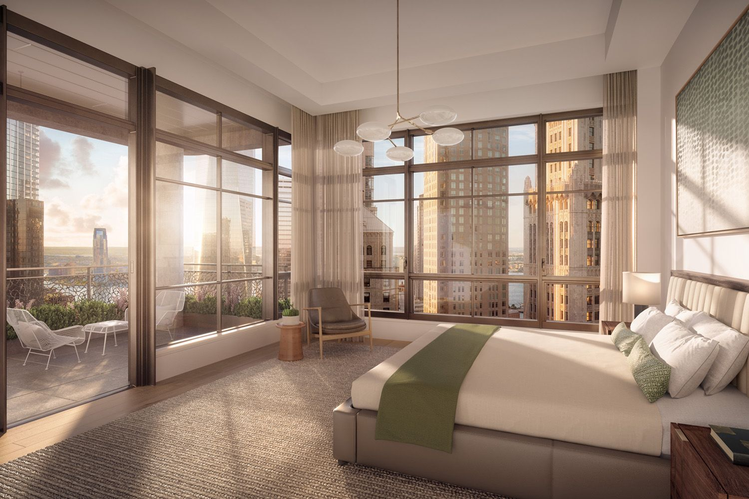 Sales Launch For COOKFOX's 25 Park Row in Financial