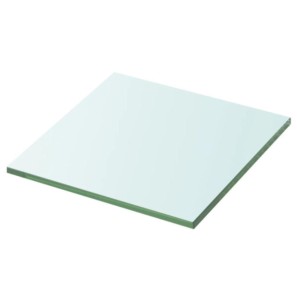 Glazen Muur Plank.Wandschap Transparant 20x20 Cm Glas Nieuw Speelgoed New