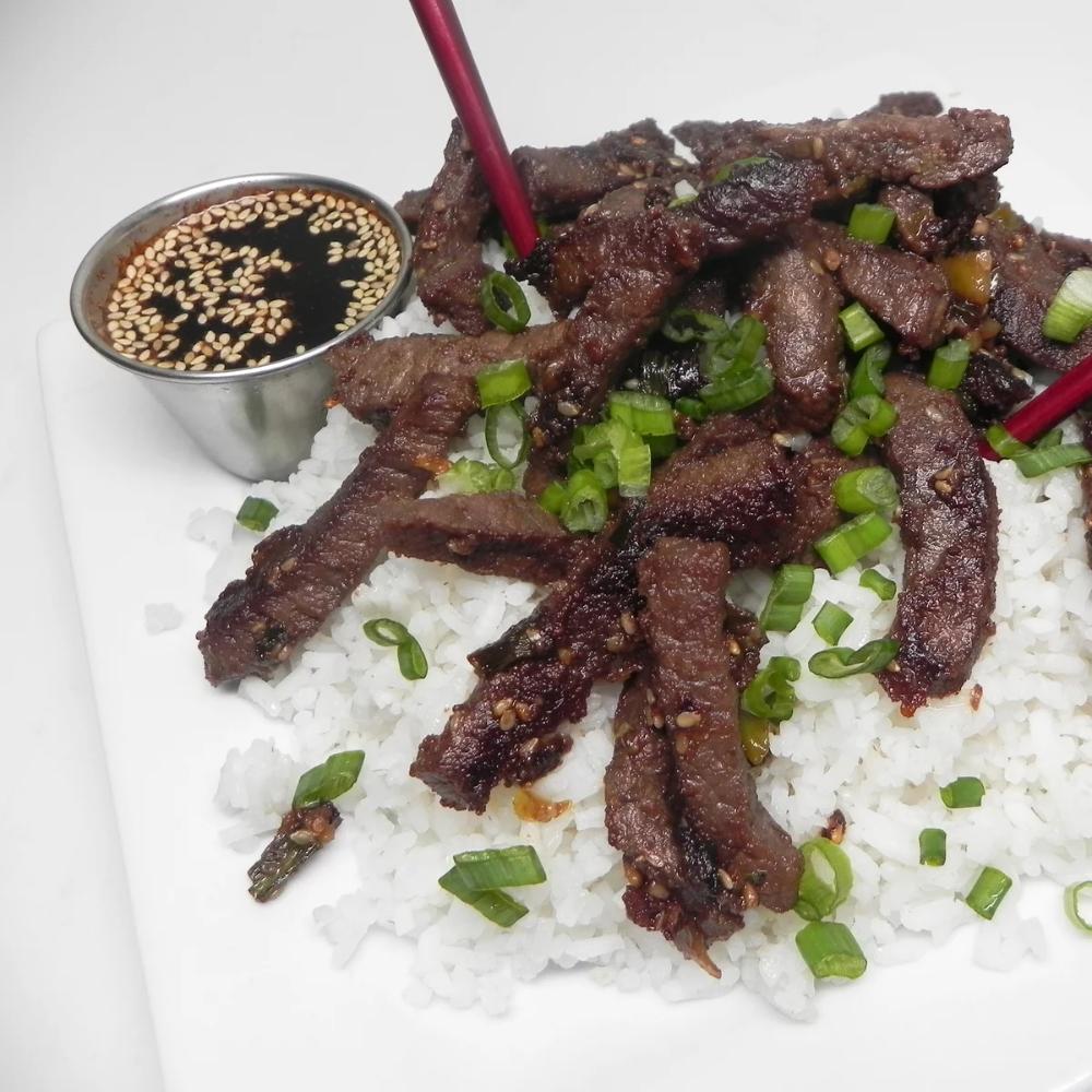 Beef Bulgogi   Recipe in 2020   Bulgogi beef, Bulgogi, Beef