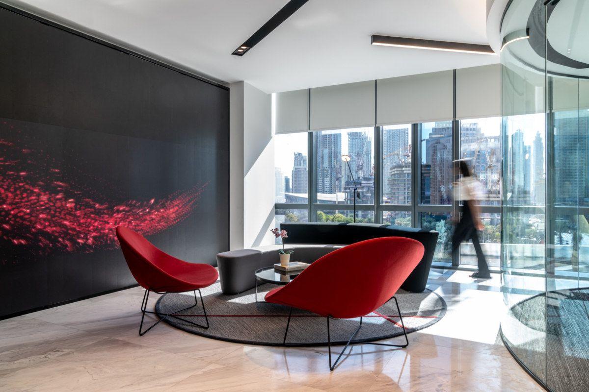 Office Tour Evoteq Offices Dubai Lounge Areas Design Interior
