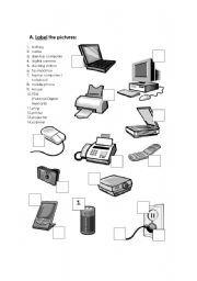 Free Printable Computer Use Worksheets Computer Hardware Computer