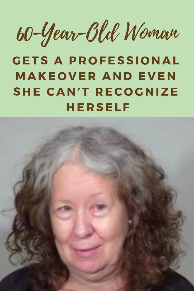 60-Year-Old Woman Gets A Professional Makeover And Even She Can't Recognize Herself #fashion #world #amazing #professional #facts  #makeover #woman #womensfashionover60