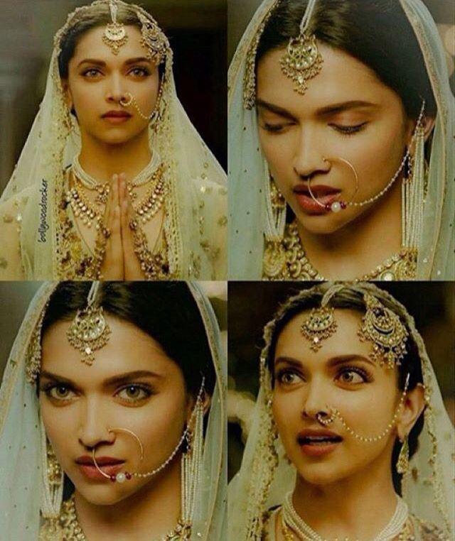 Bajirao Mastani Bridal Nose Ring Indian Nose Ring Nath Nose Ring
