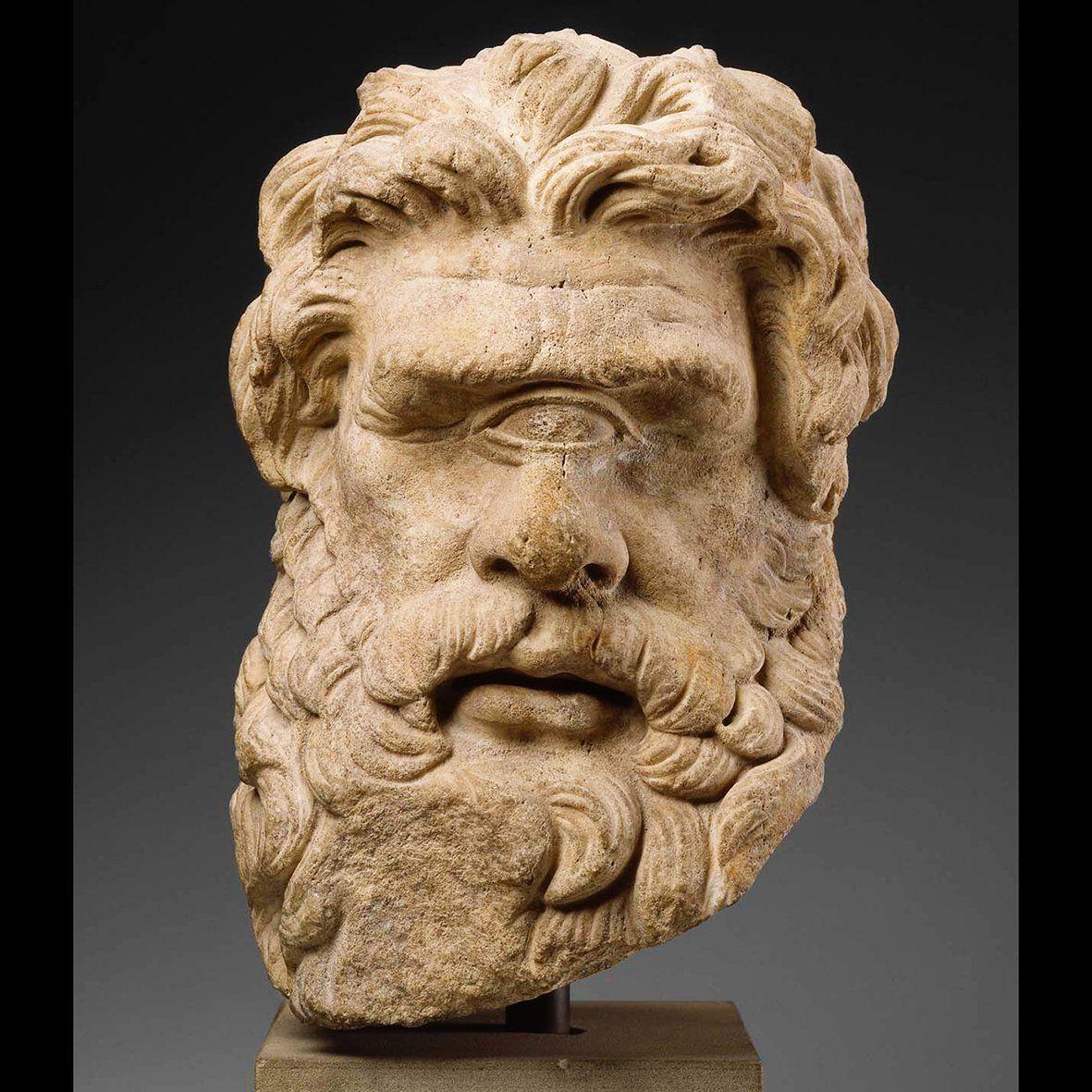 Head Of Polyphemus Man-eating Cyclops Odysseus