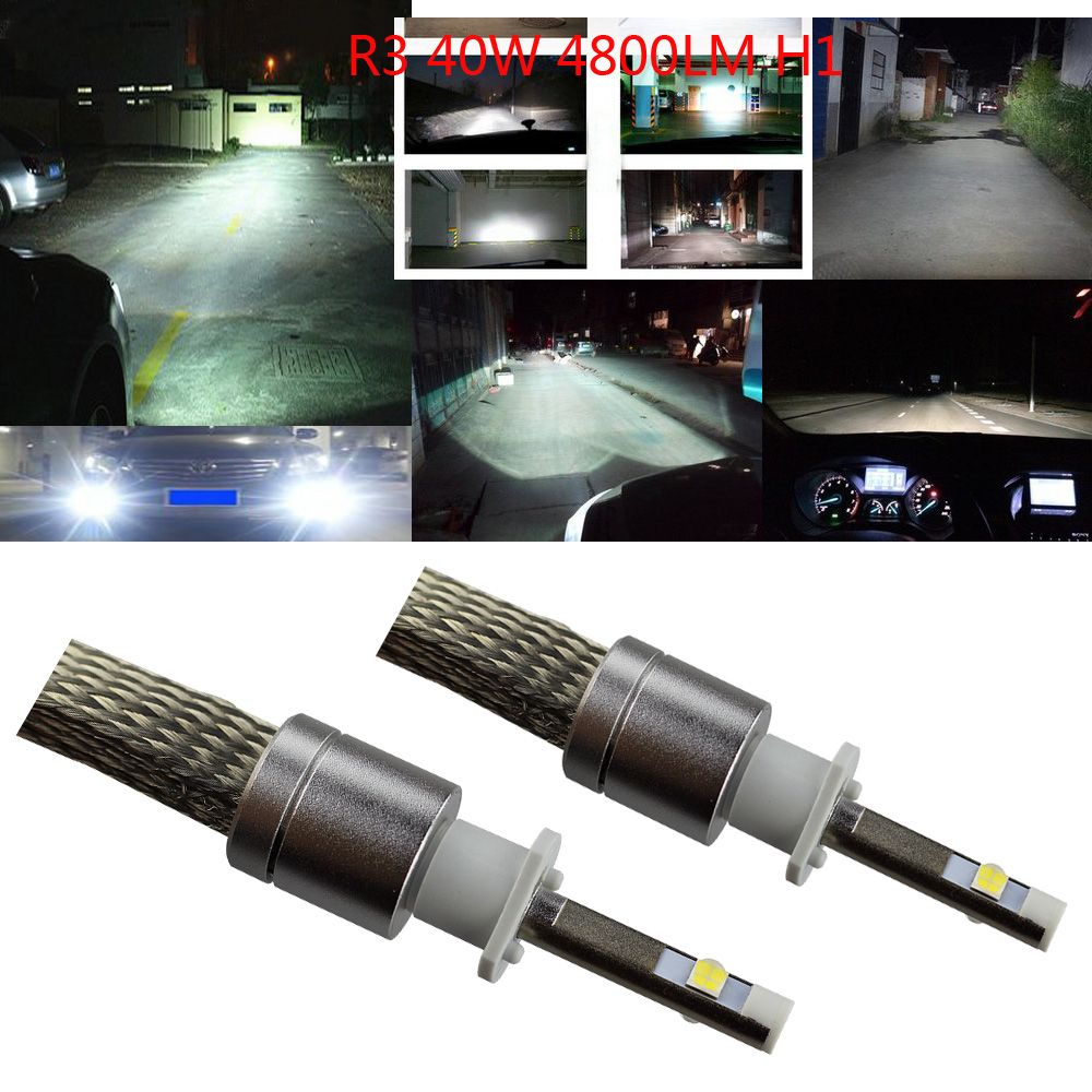 Led Headlight Cree Xhp 50 80w 9600lm 6000k Led Conversion Kits 360 Beam Angle Fanlehttp Www Amazon Com Dp B01e8hse Led Headlights Headlight Bulbs Headlights