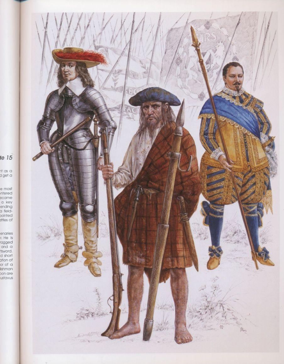 British mercenaries in the army of gustavus augustus1630
