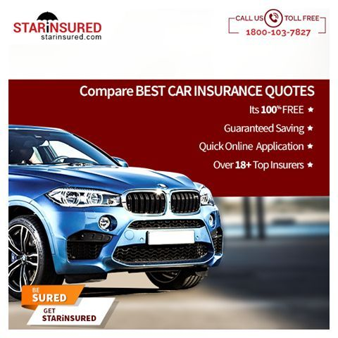Compare Best Car Insurance Quotes Its 100 Free Guaranteed