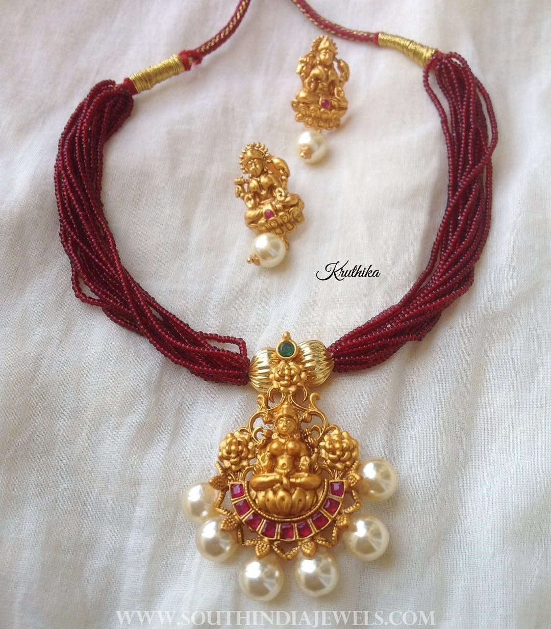 Temple attigai from kruthika jewellery south indian jewellery