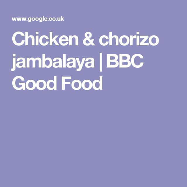 Chicken chorizo jambalaya bbc good food recipes pinterest chicken chorizo jambalaya bbc good food forumfinder Image collections
