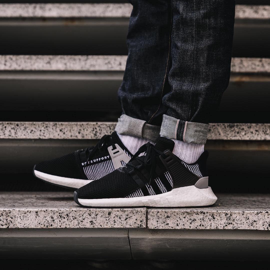 dobra sprzedaż sprzedaż online rozsądna cena Adidas EQT Support 93/17 Core Black / Footwear White | Men's ...