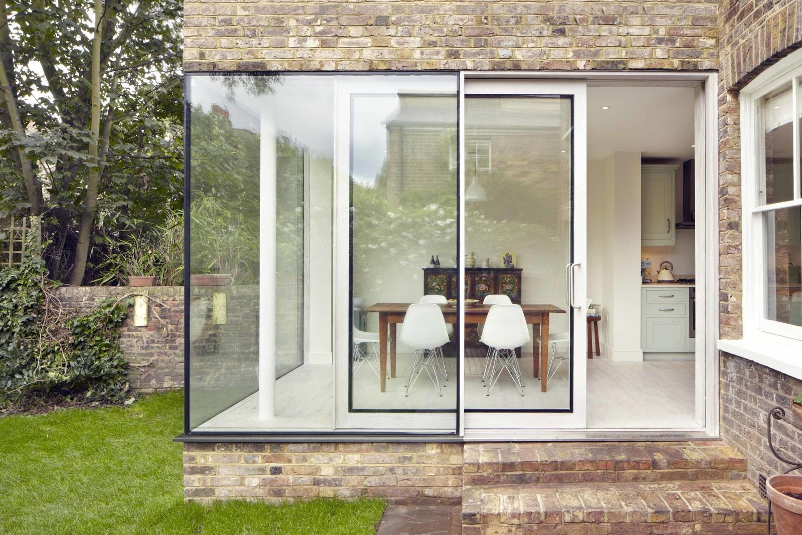 This Extension Transforms A London Townhouse Into A Contemporary ...