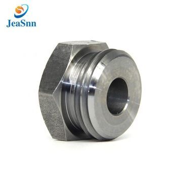 Cnc Machining Steel Hex Push Button Nut Flat Switch Nut ...