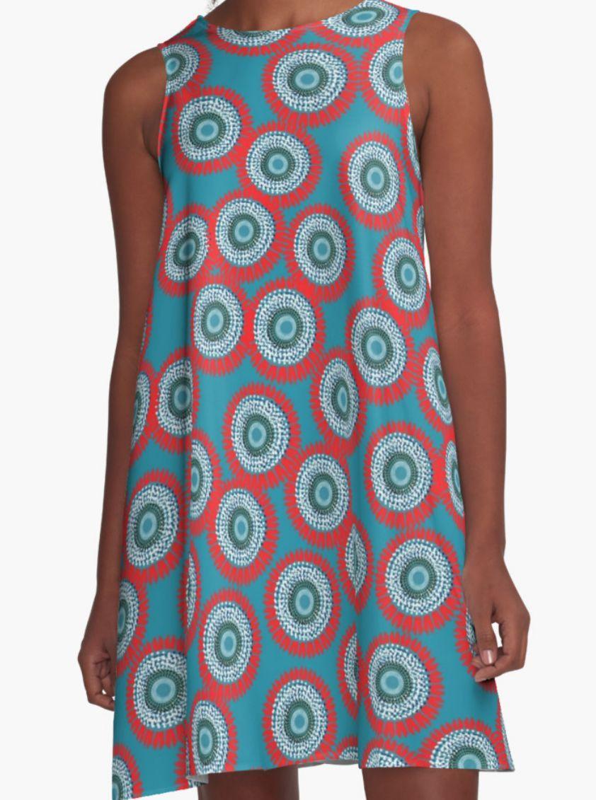 Floral Dress - Dress for Woman - Girls dress - Modern Patterns Dress