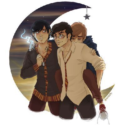 A Love Story Harry Potter Fan Art Remus Lupin Fan Art Harry Potter Fandom
