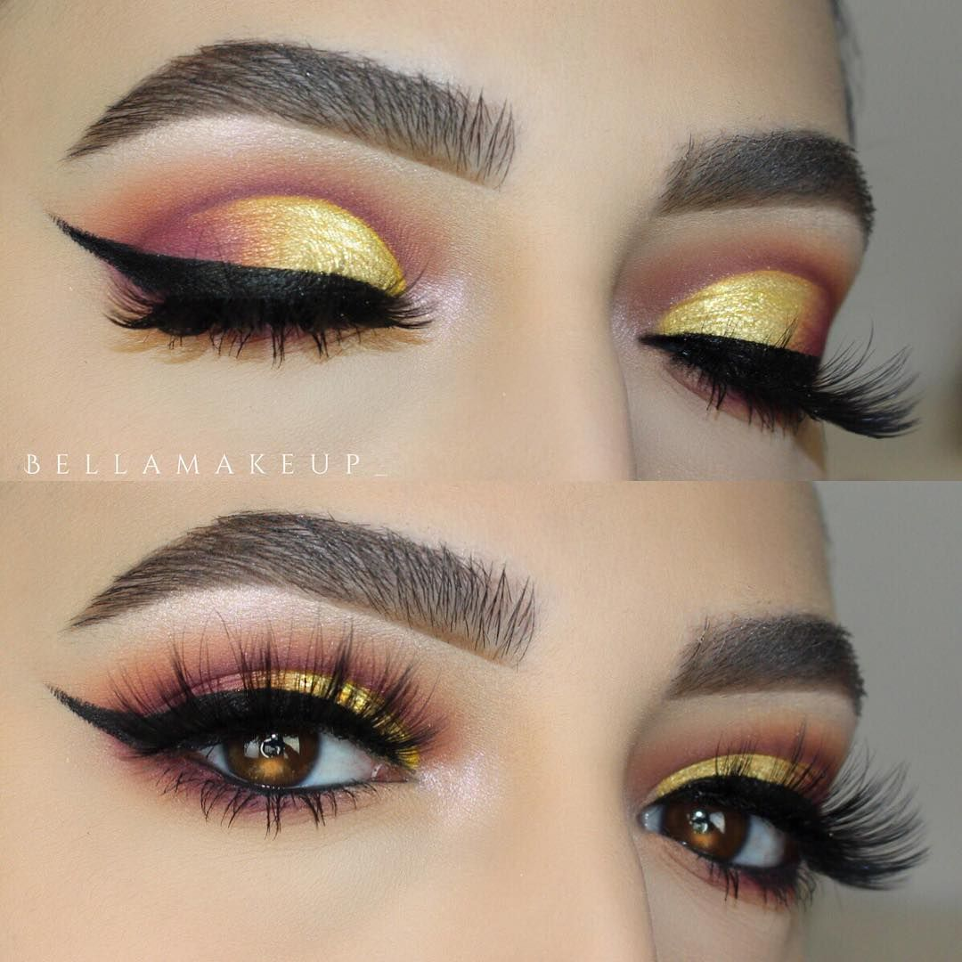 Pin by Esly Guizada on makillaje in 2019 Eye makeup