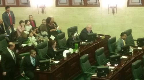 RT @Leysa0320: Presidente entrante Carlos Johnny Méndez previo a...