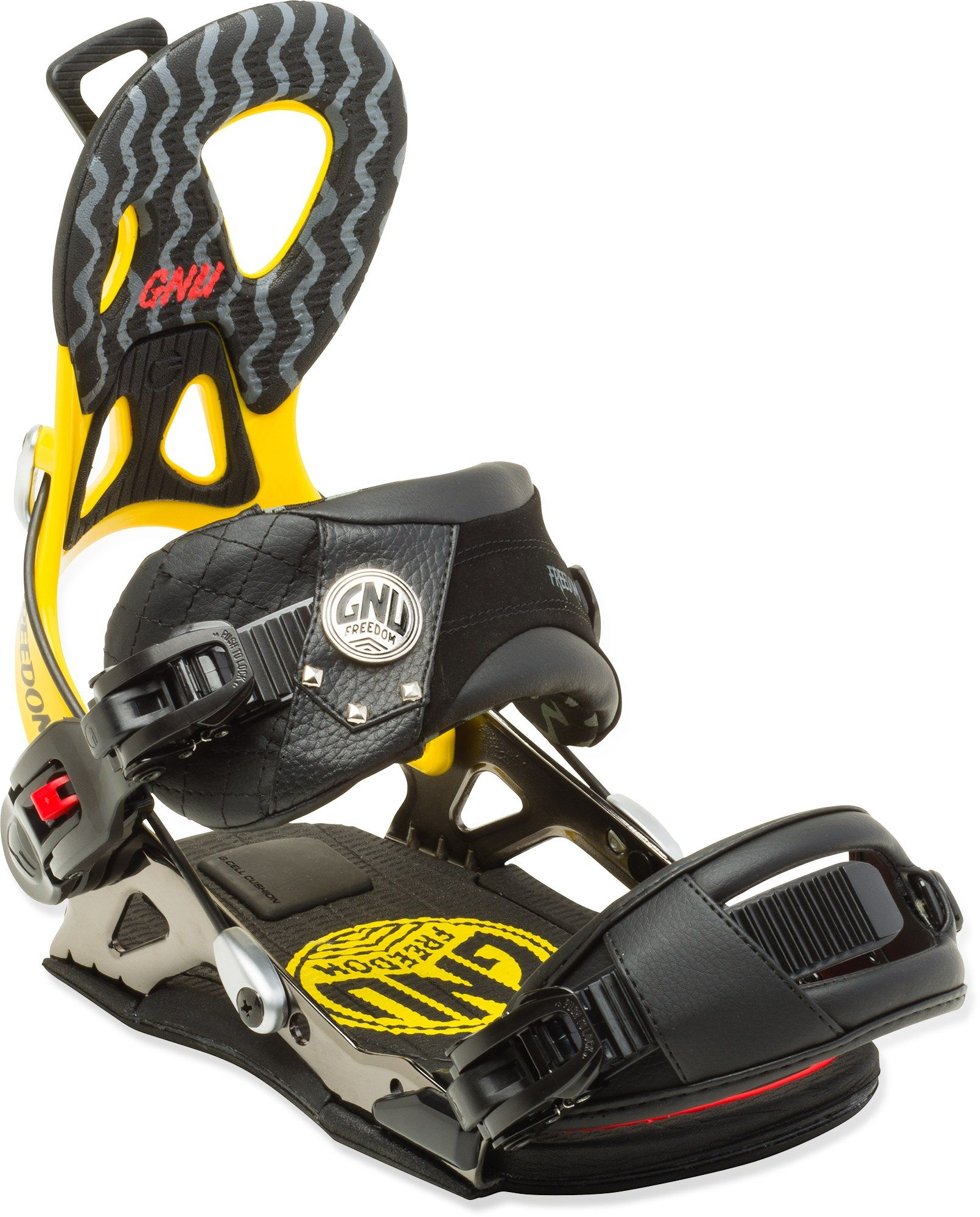GNU Freedom Snowboard Bindings - Men's - 2015/2016