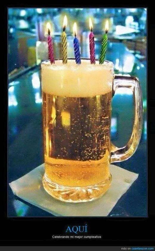 Funny Quotes Beer Wishes Happy Birthday