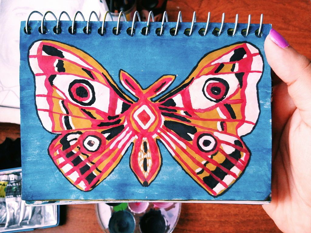 Painting a butterfly my art pinterest butterfly