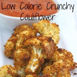 Cauliflower, baked & crunchy ~ 1/2 Head of Cauliflower Florets; 2 Cups Almond Flour; 1 tsp Taco Seasoning ( or your favorite blend ); 2 Eggs – Beaten; 1 Tsp Mustard; oil spray; 1 Tbs Creamed Horseradish; Freshly Ground Sea Salt and Black Pepper.