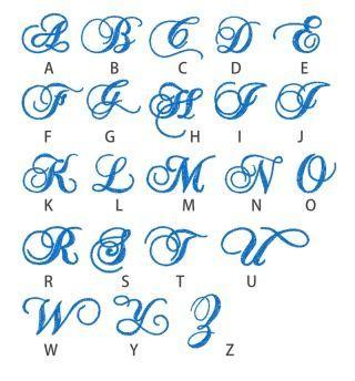 Artful Lettering おしゃれまとめの人気アイデア Pinterest Hill 刺繍 図案 モノグラムフォント 刺繍 図案 アルファベット