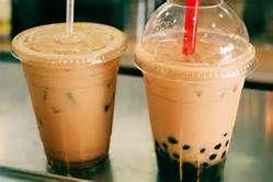 Thai Iced Tea With Boba