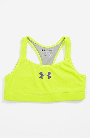 c9ed141a1fe08 Under Armour  Dazzle  HeatGear® Sports Bra (Big Girls)