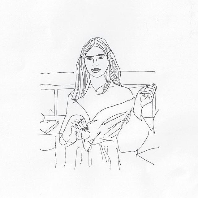 Dua Lipa by Anna Boulogne