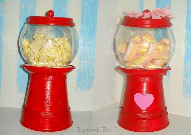 Bubble Gum Machine - Popcorns
