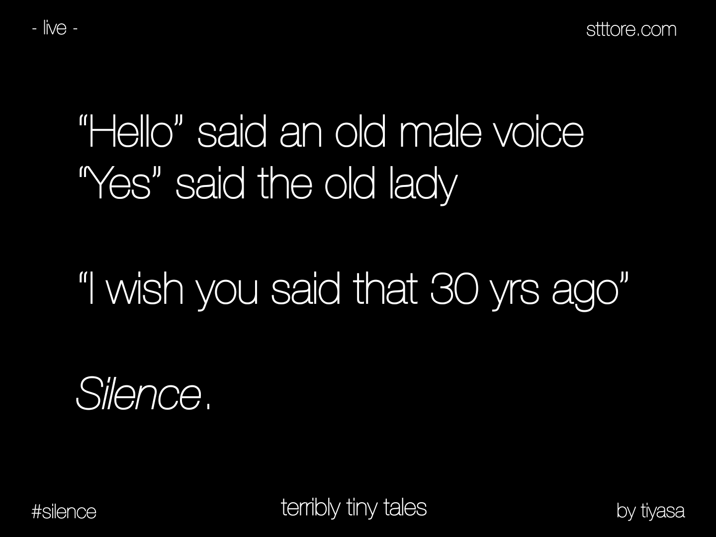 Quotes About Short Stories: Terribly Tiny Tales