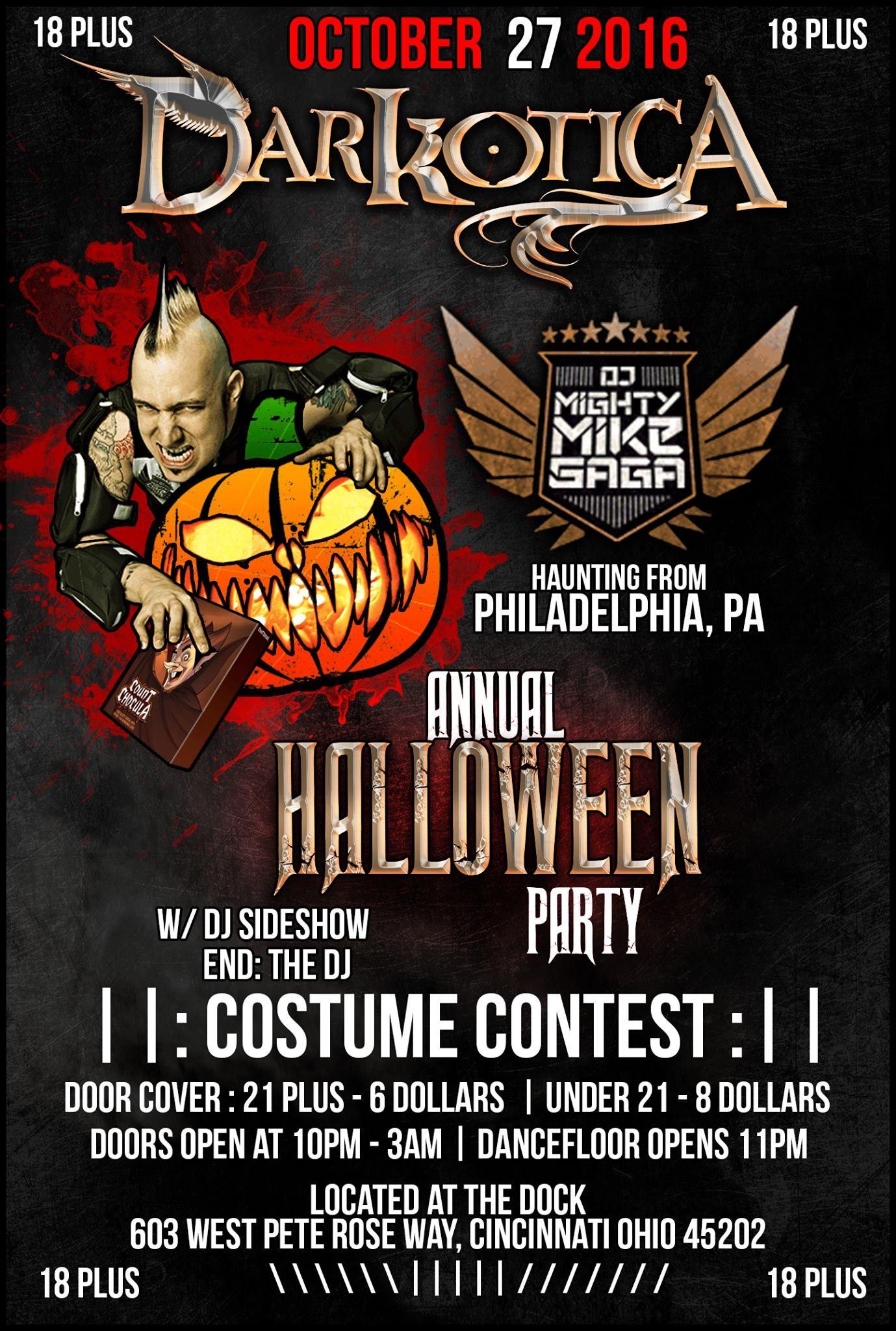 Halloween weekend is AWESOME in Cincinnati. By weekend, I