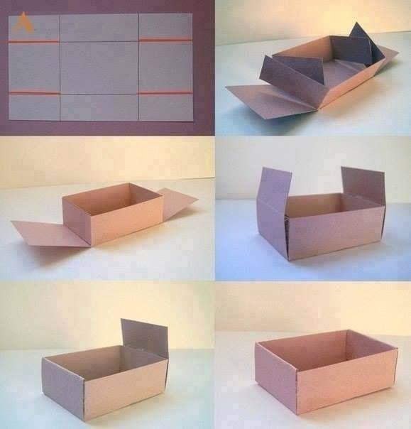 Aprenda A Fazer Uma Caixa Crafts Idea Diy Como Fazer Caixa De