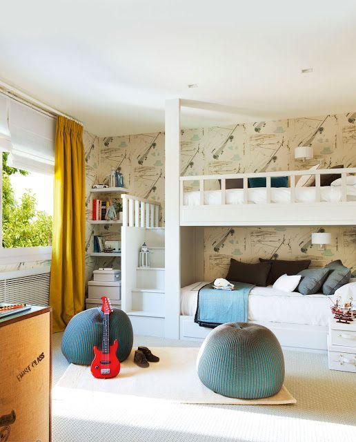 CASA TRES CHIC | Dormitorios Adolescentes y niños / teens and kids ...