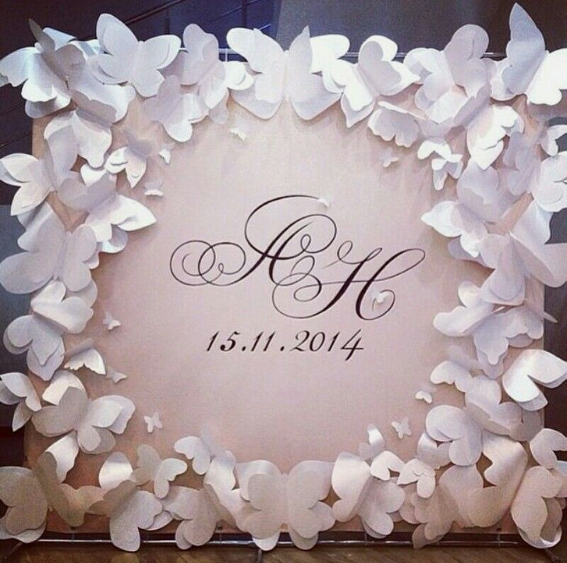 Cool Wedding Guest Book Ideas: Butterfly Wedding … (With Images)