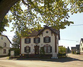 La mairie Riedseltz