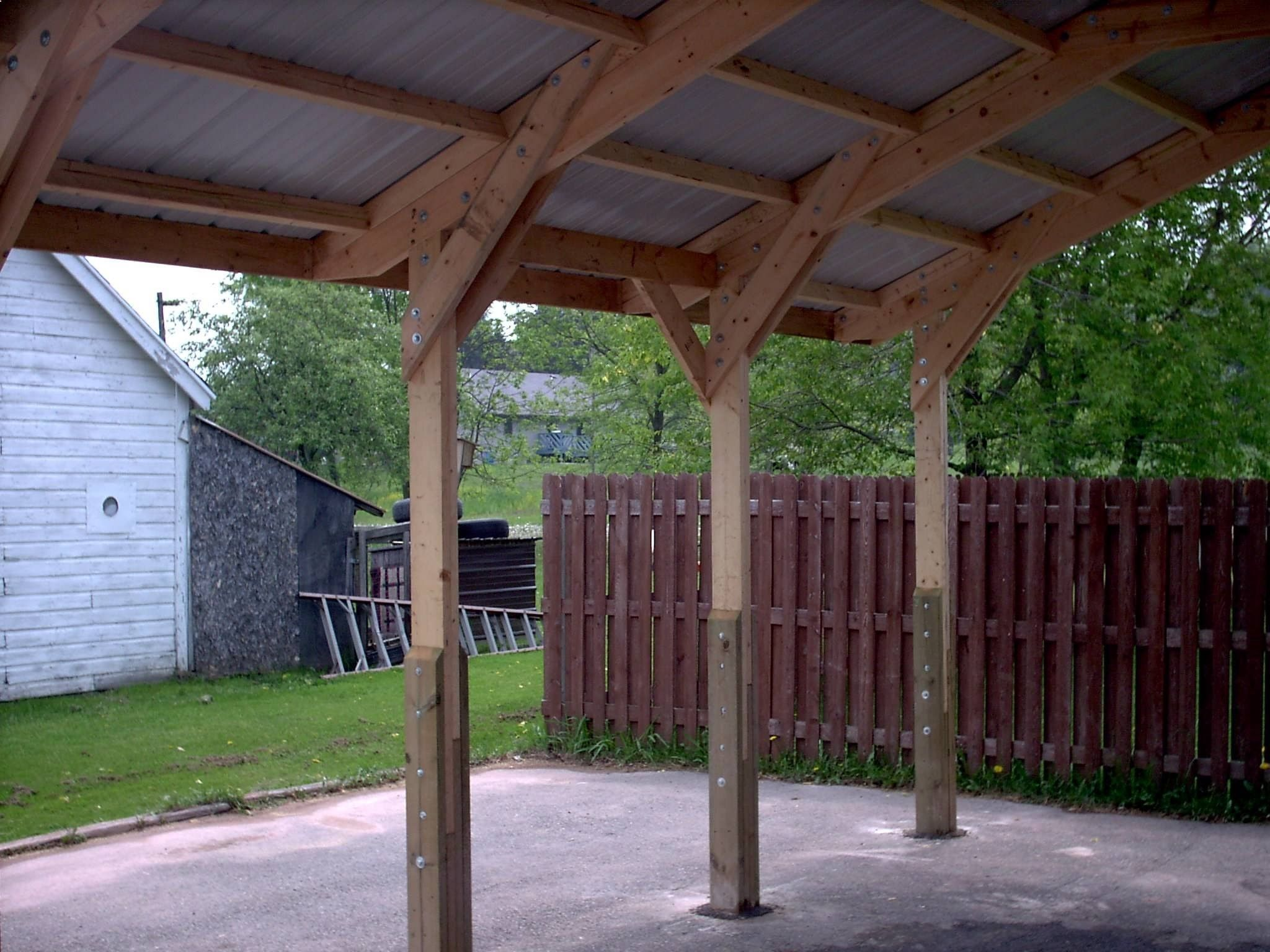Scenic Wood Carport Builders Saint Louis For Car Engrossing
